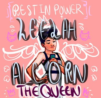 leelah alcorn tribute drawing dessin hommage trans suicide copyright wunking on deviantart.com