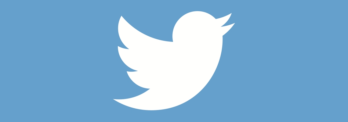 twitter logo réseaux sociaux