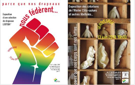 Vernissage expositions Centre LGBTI Lyon