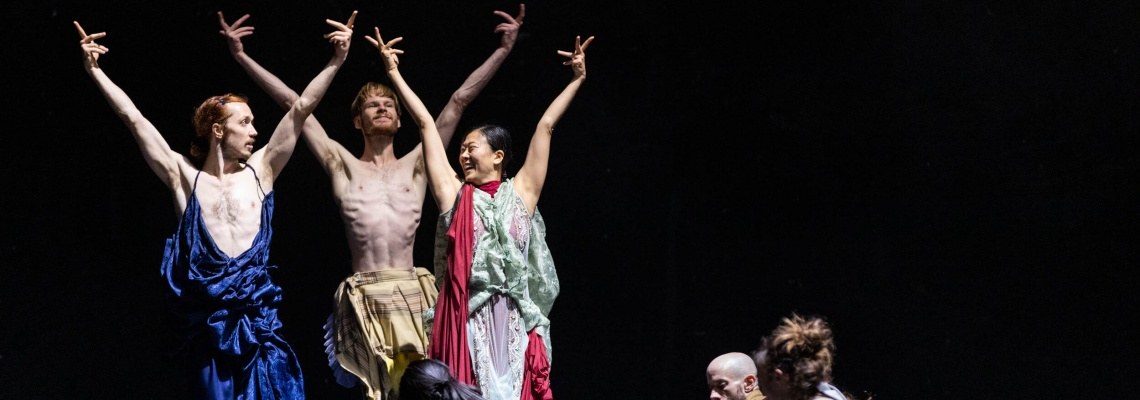 Avec la comédie musicale Lovetrain 2020, Emanuel Gat explore la rencontre et l'échange sur la musique de Tears for Fears, à la Maison de la Danse.