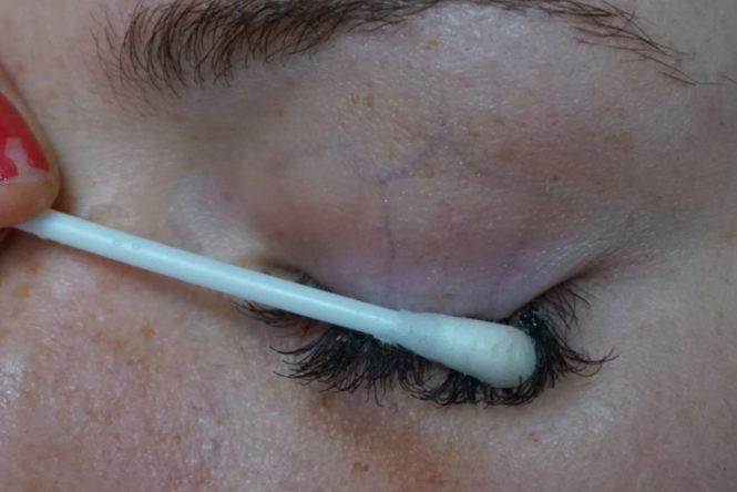 eylure lash pro individuals verwijderen met wattenstaafje