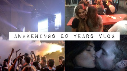 Awakenings 20 years vlog thumbnail