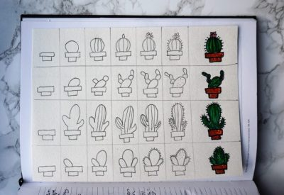 Cactus Journal dagboek How to hoe teken