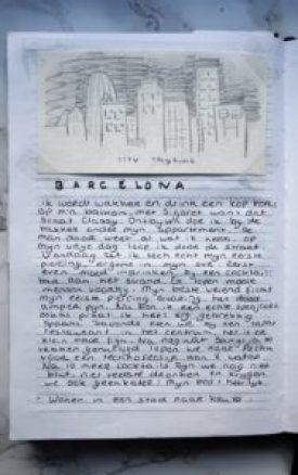 Barcelona Stad naar keuze Journal 30 ideeëen