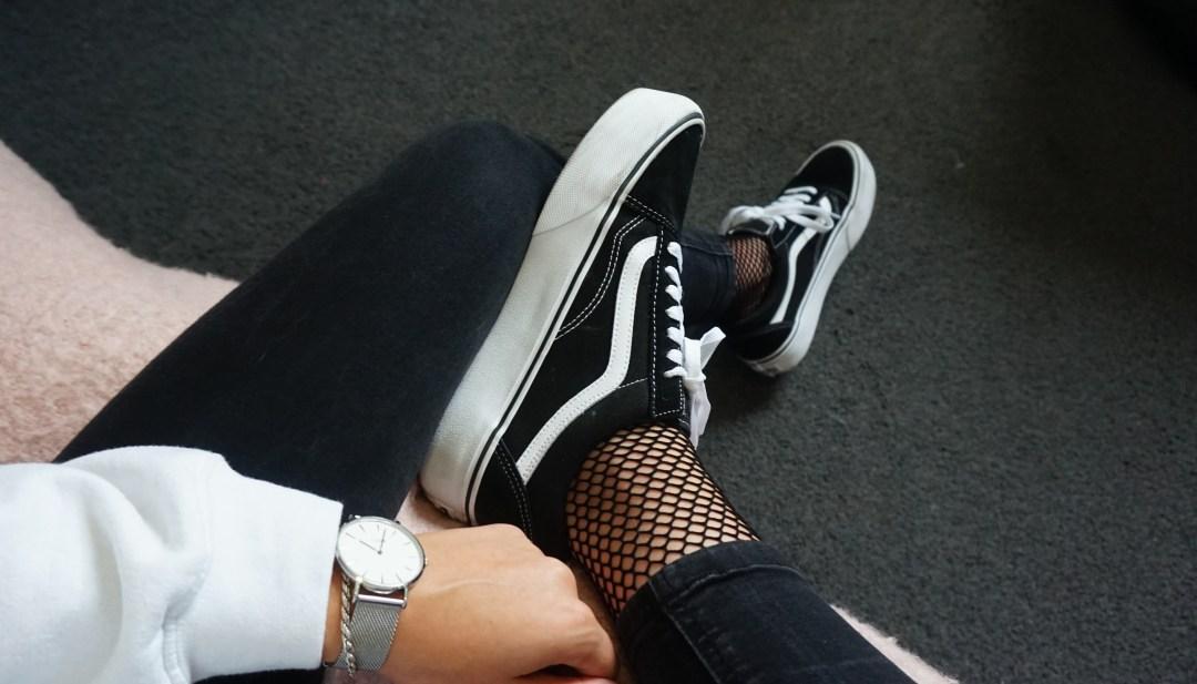 mijn schoenen collectie Vans old school platform sneakers