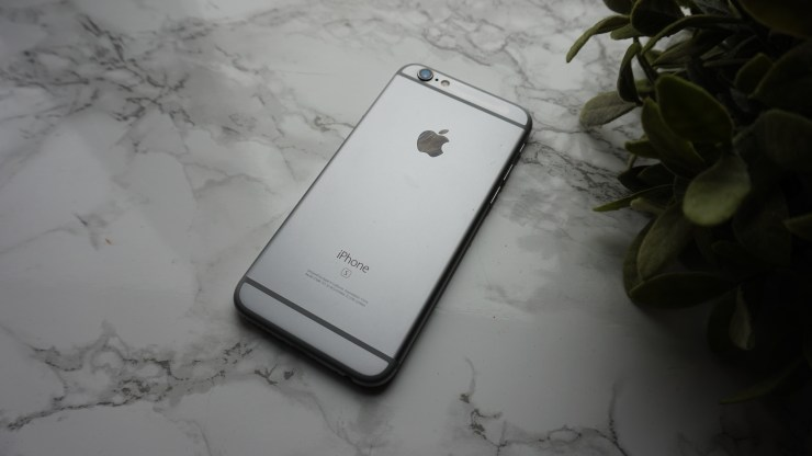 iPhone 6s  zwart spacegray