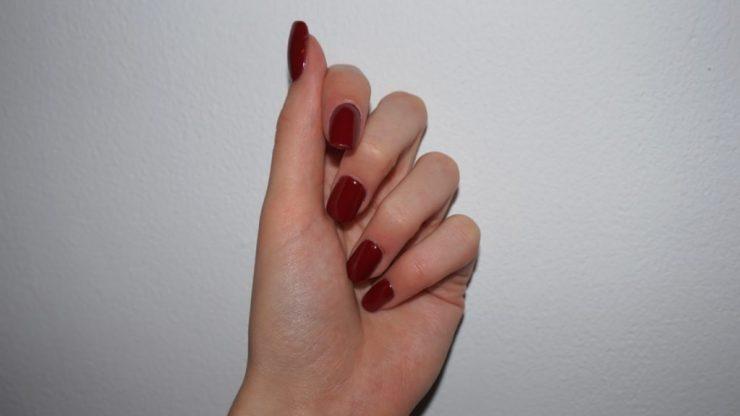 acryl nagels 2 Freesia Nails Art Kudelstaart