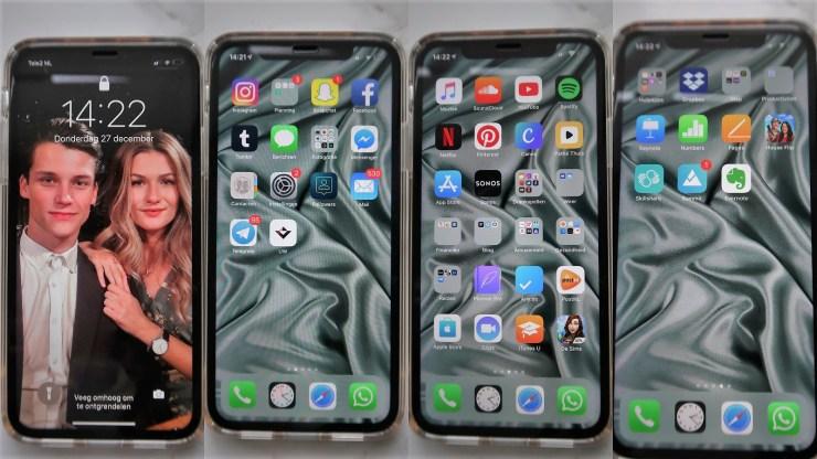 Wat staat er op mijn nieuwe Iphone Xr, What's on my new iPhone Xr?