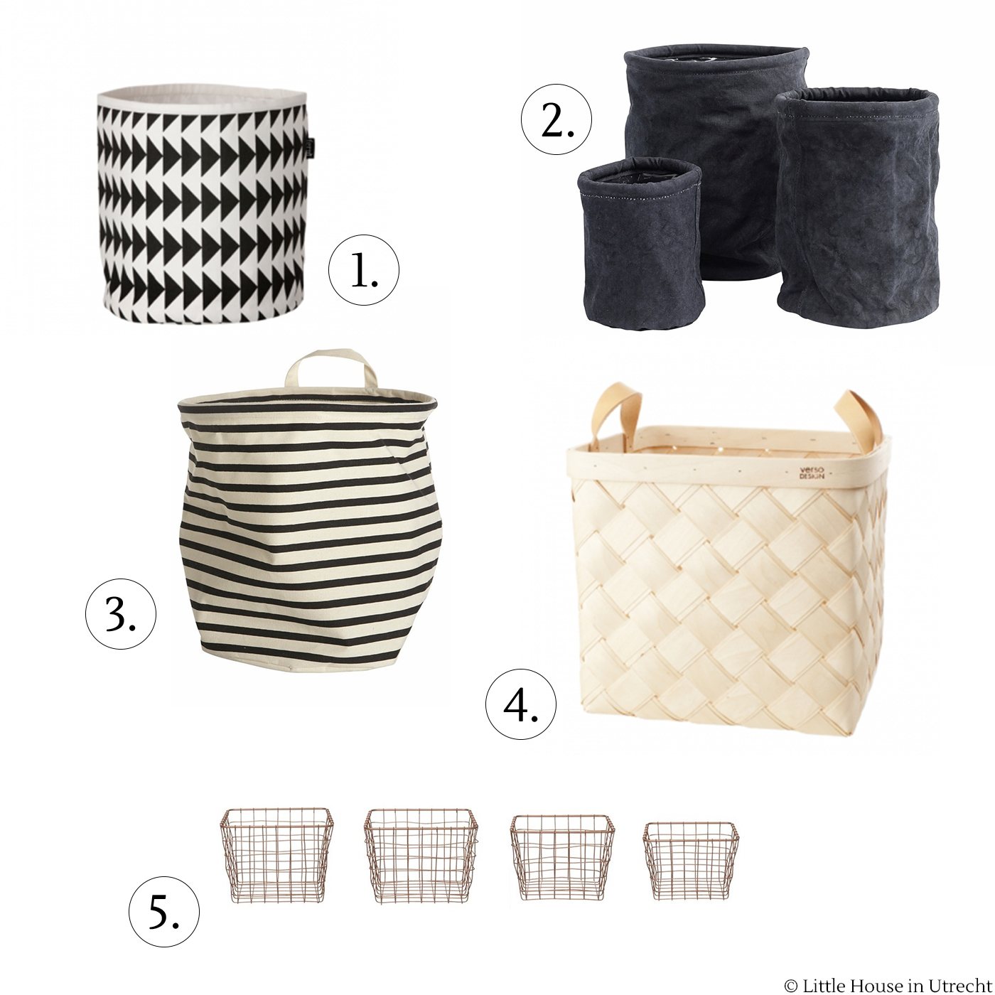 bathroom organising, baskets, ferm living, house doctor, lastu birch basket, nordal, pt linea mand set