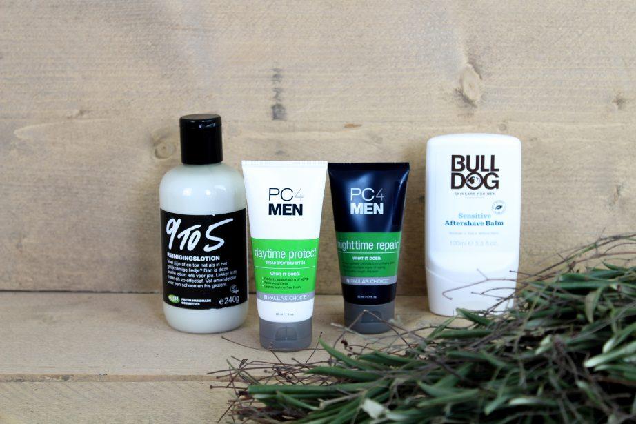 vegan verzorgingsproducten (voor mannen)