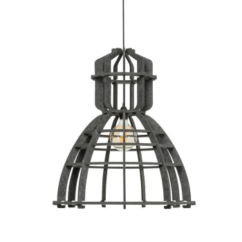 No.19XL hanglamp PET Felt Dark Grey 60cm by Olaf Weller