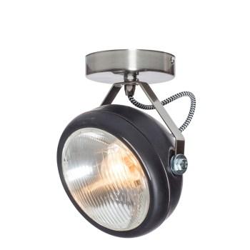 No.7 Spot vintage koplamp zwart