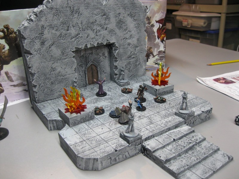 Xin's Lair: entrance to the dead Wizards Lair