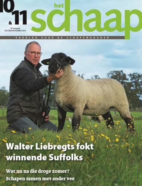 vakblad Het Schaap cover oktober-november 2018
