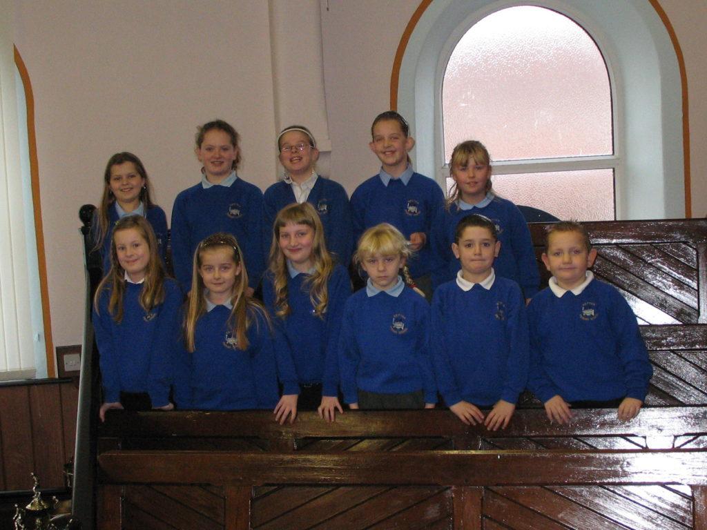 School Visit By Hetton Primary School Choir Hetton Le