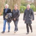 AMSTERDAM, THE NETHERLANDS. 2017, MARCH 17. Begrafenis van Kitty Courbois op begraafplaats Zorgvlied.