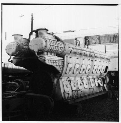 Rolleiflex 2.8E image of a big motor