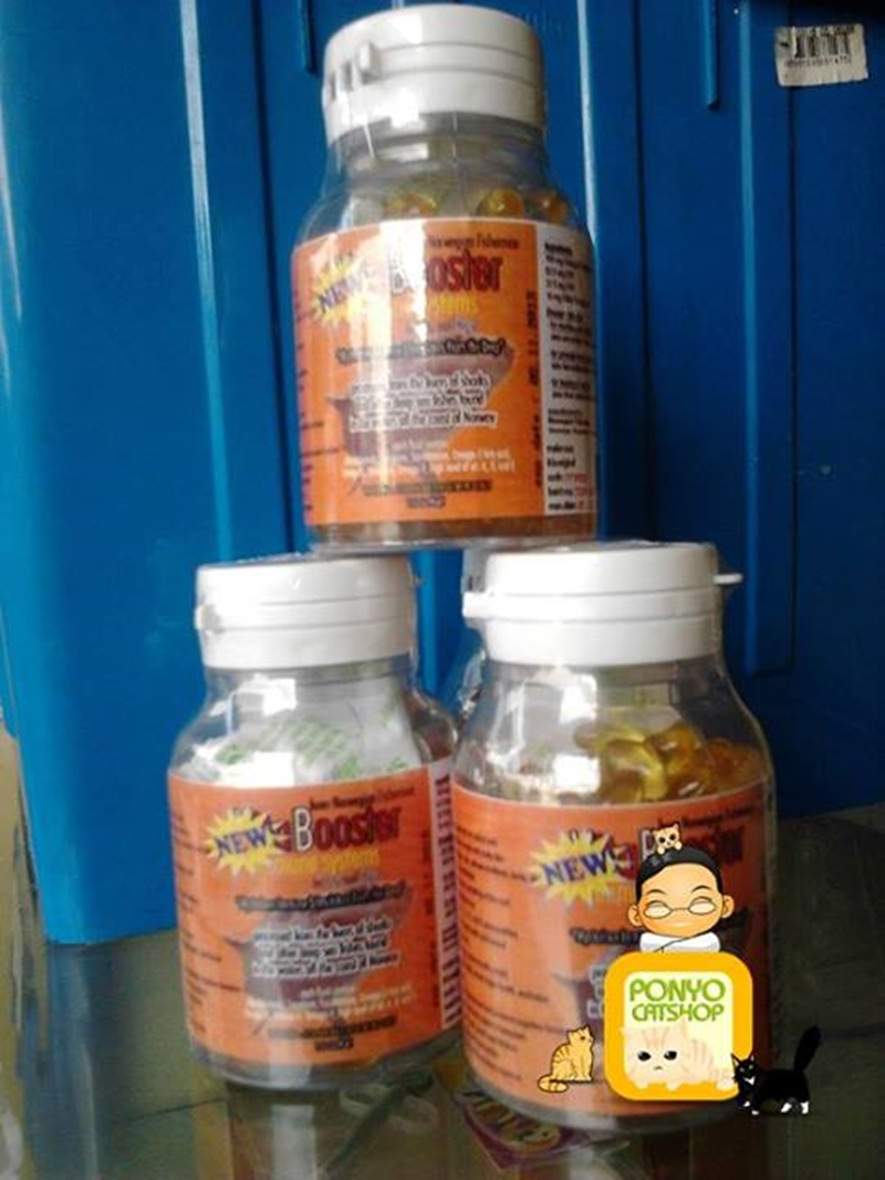 Vitamin Kucing, Vitabooster Softgel