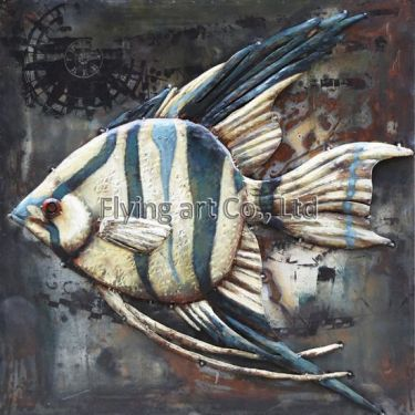 3D-Metal-Wall-Art-for-Fish