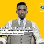 Samuel Eto'o pour MTN Cameroon