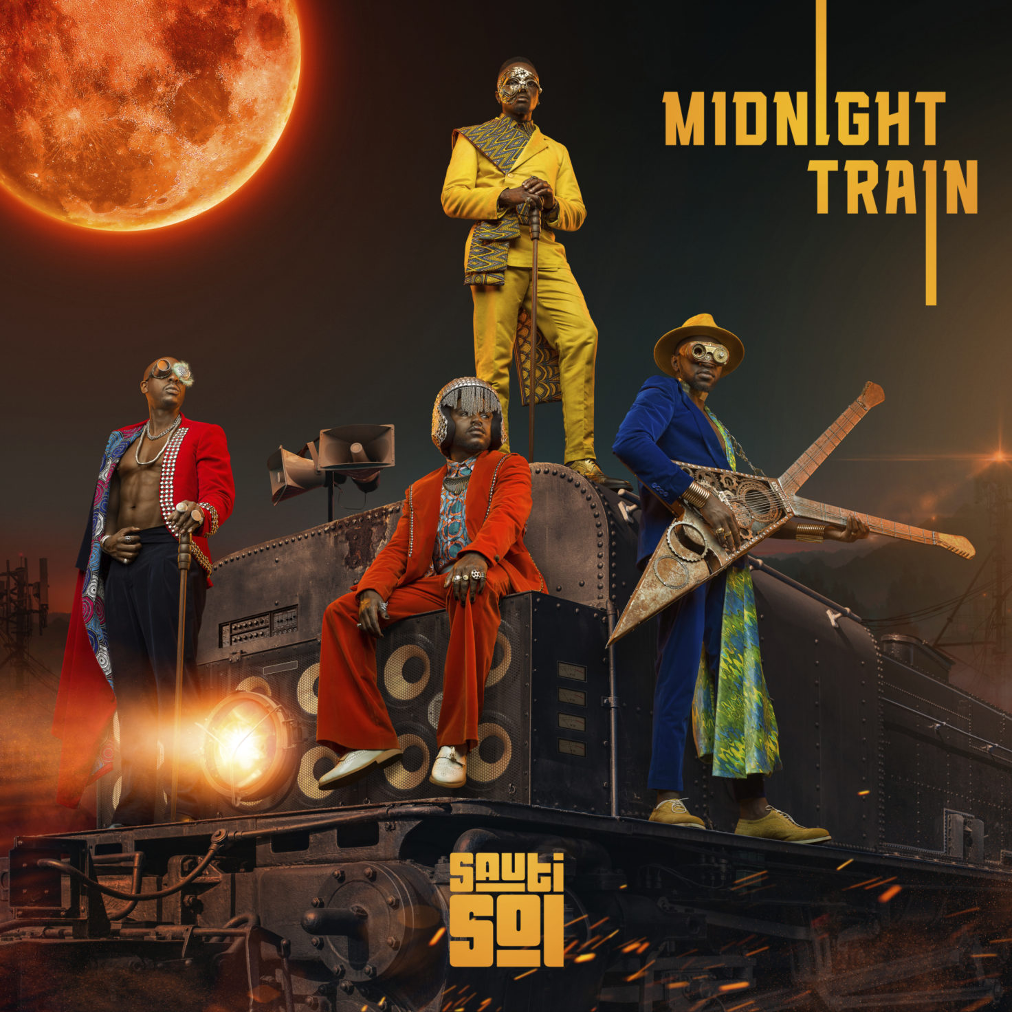 Sauti Sol - Midnight Train