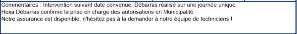 Le détail et la précision des offres Hexa Débarras - Débarras appartement Isère