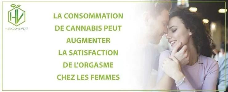 La consommation de cannabis peut augmenter la satisfaction de l'orgasme chez les femmes