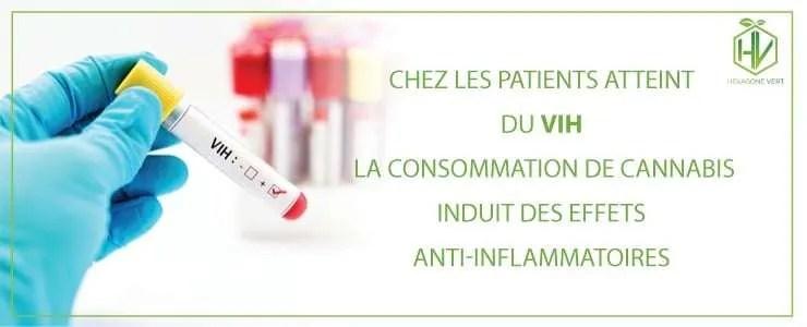 VIH : la consommation de cannabis induit des effets anti-inflammatoires