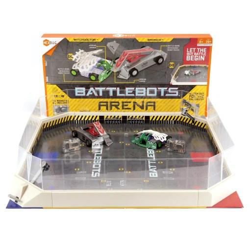SET DE ROBOTS DE PELEAS BATTLEBOTS ARENA 3