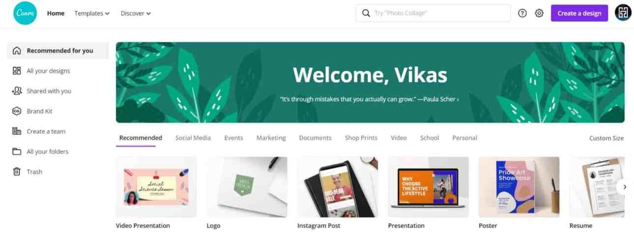 Canva: Collaborate & Create Amazing Graphic Design for Free