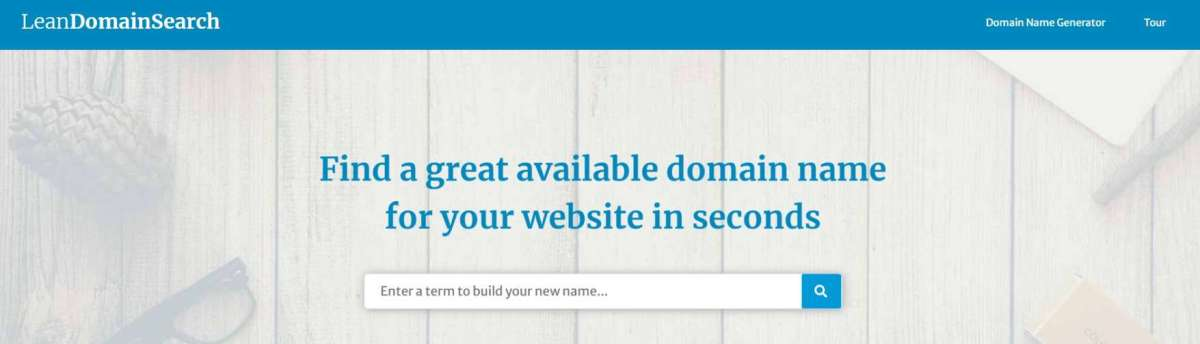Lean Domain Search: Search For And Register Available Domain Names In Seconds