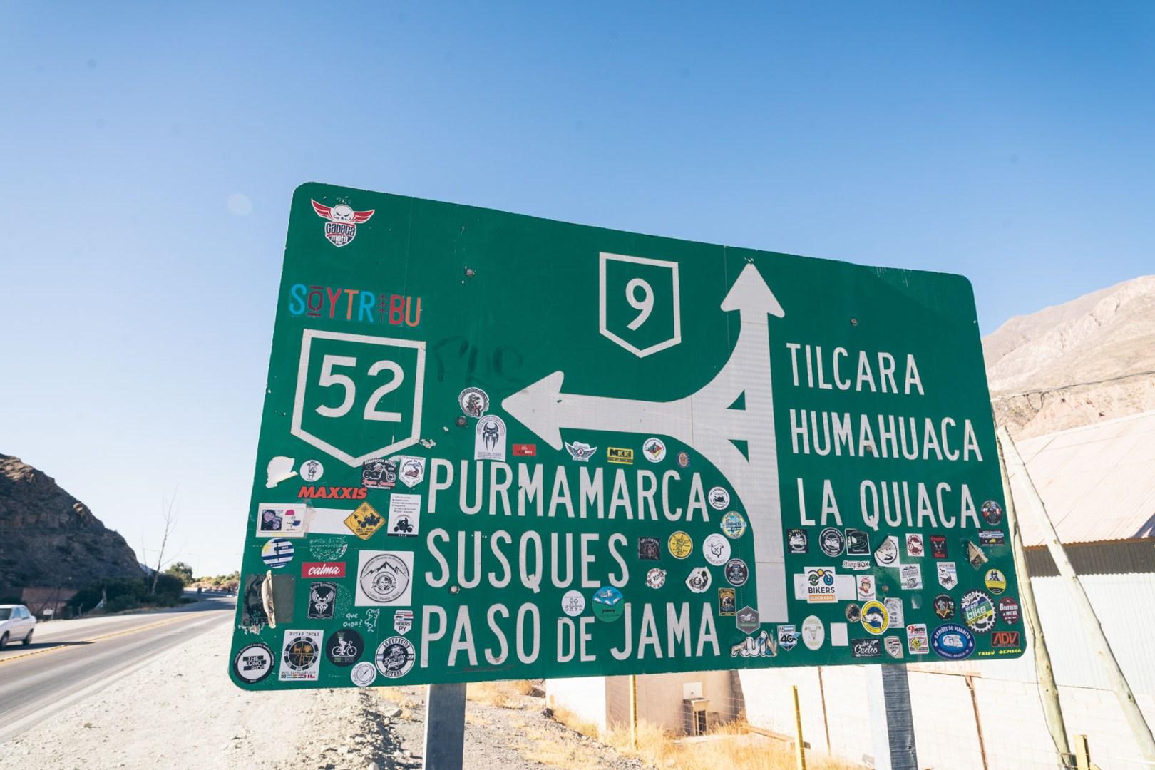 On arrive à Purmamarca