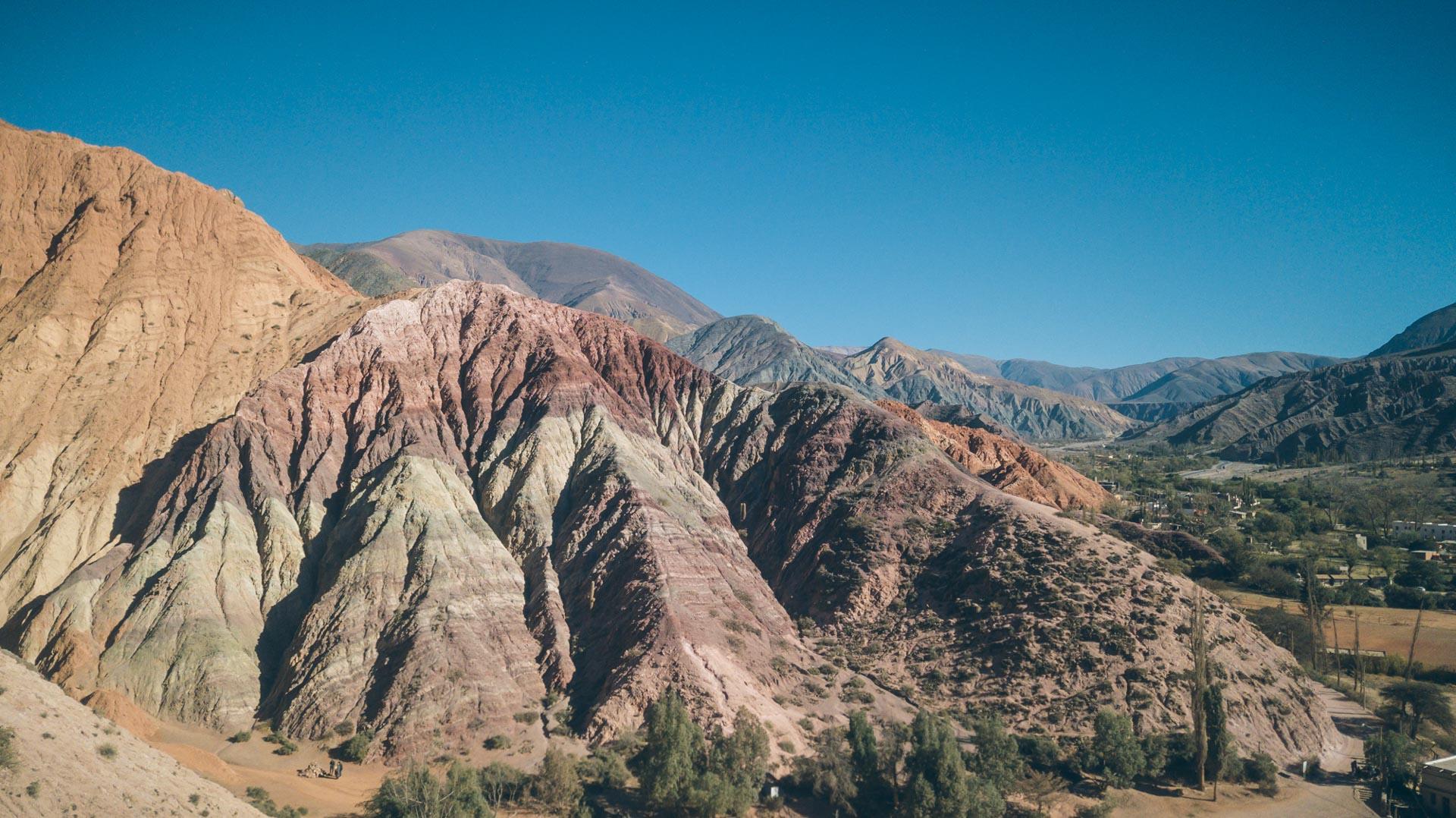 La montagne des 7 couleurs à Purmammarca