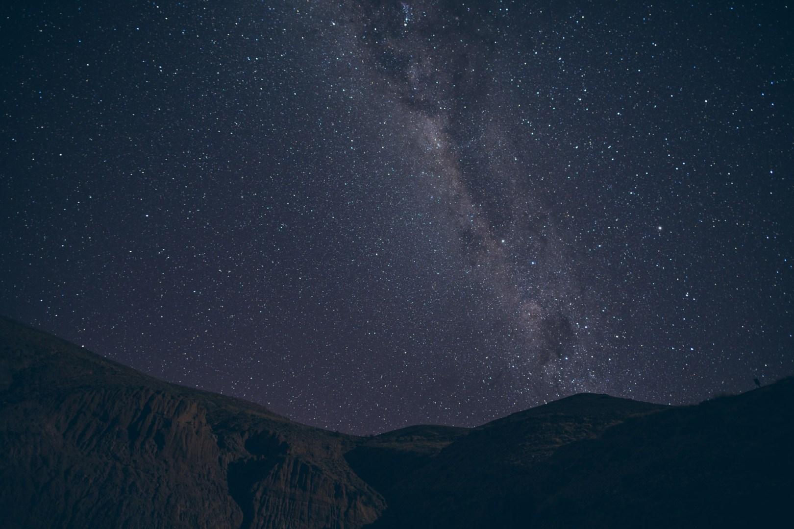 Observation de la voie lactée