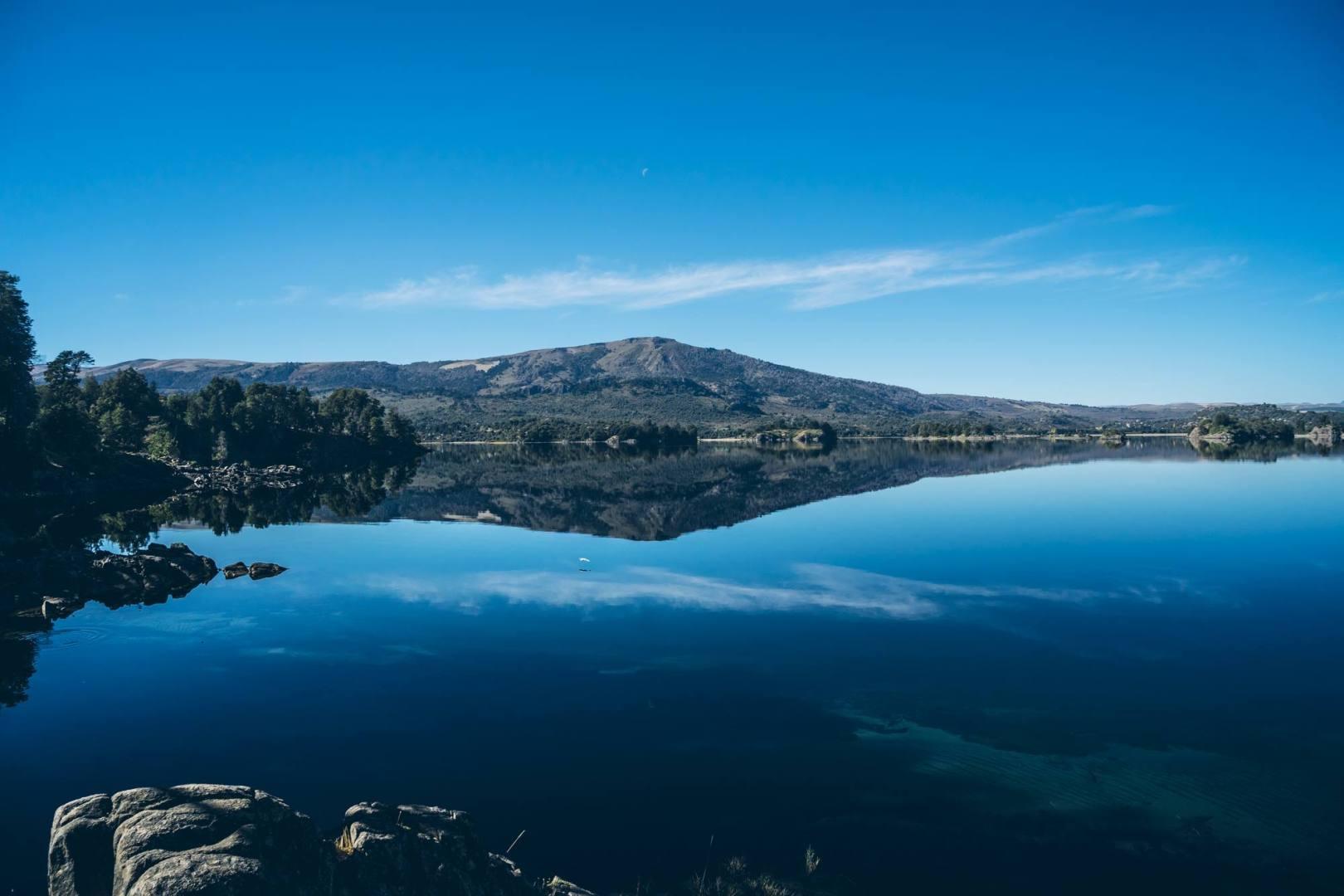Le lac Aluminé