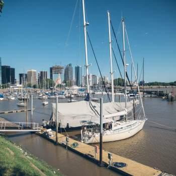Départ du port de Buenos Aires