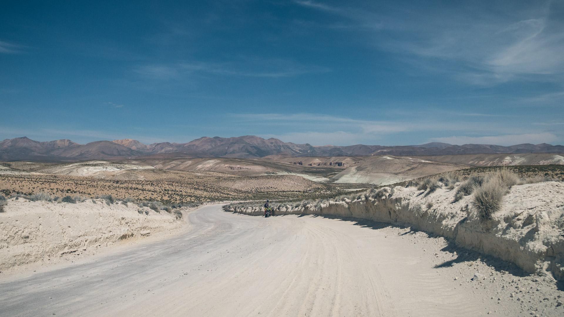 Paysage désertique mais magnifique