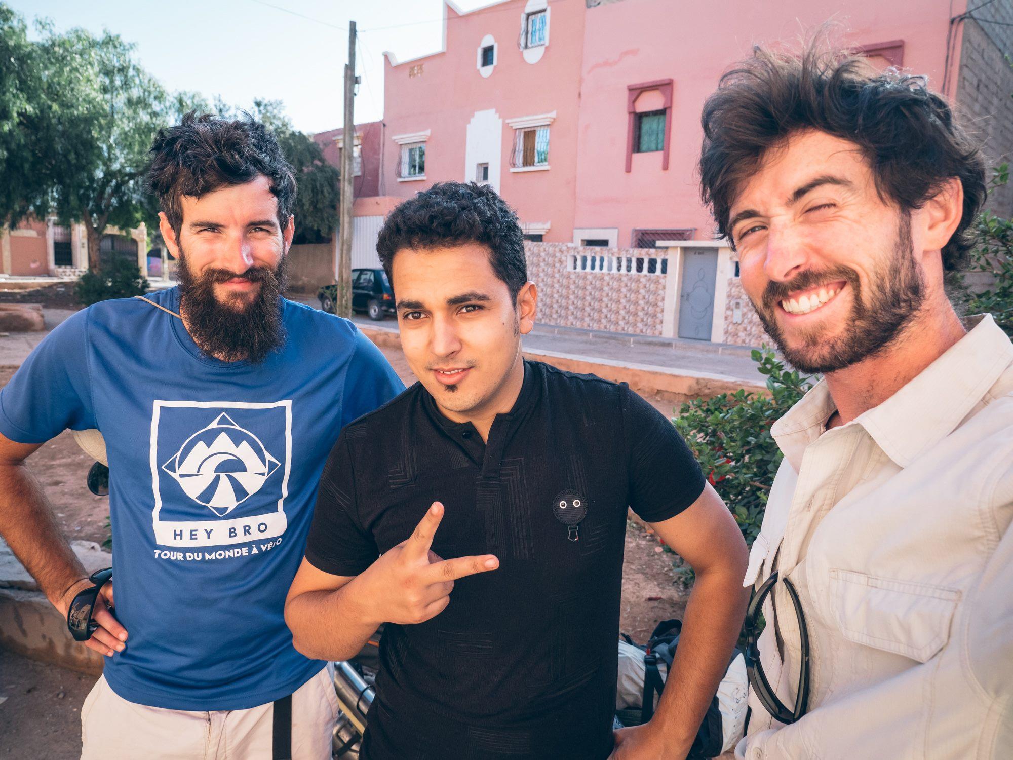 Au départ de Guelmim avec Farid