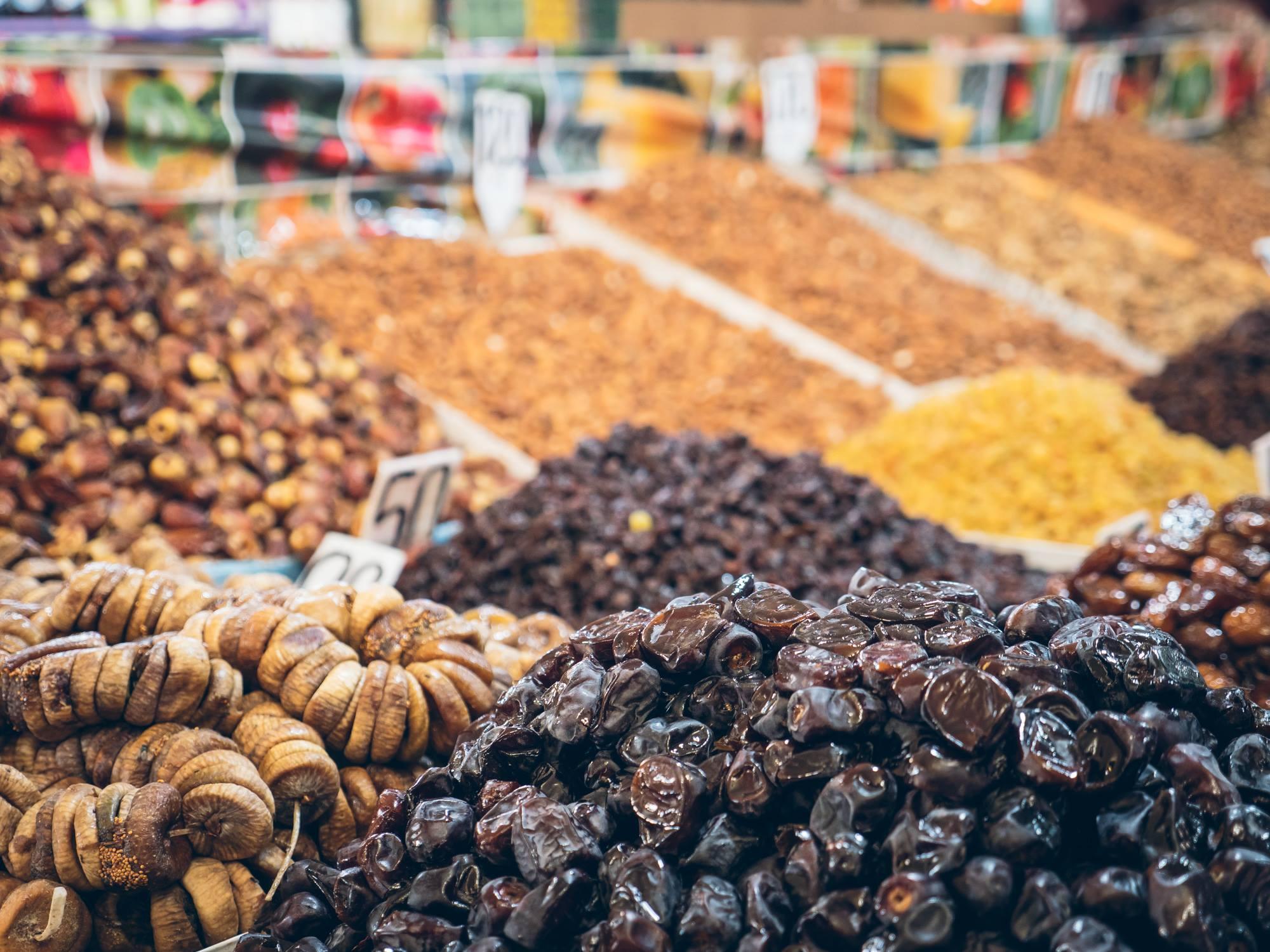 Marchand de fruits et graines