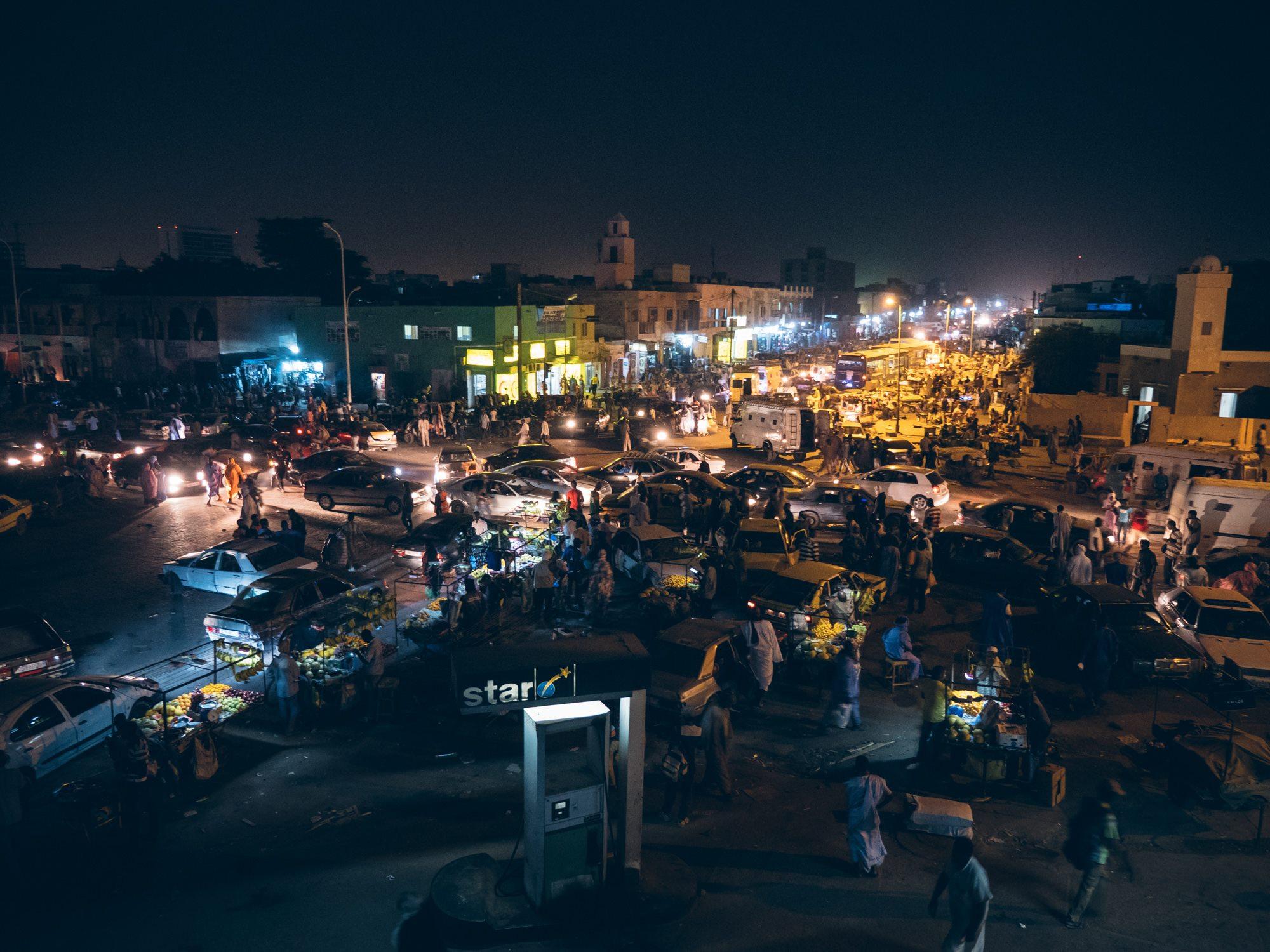 Nouakchott de nuit