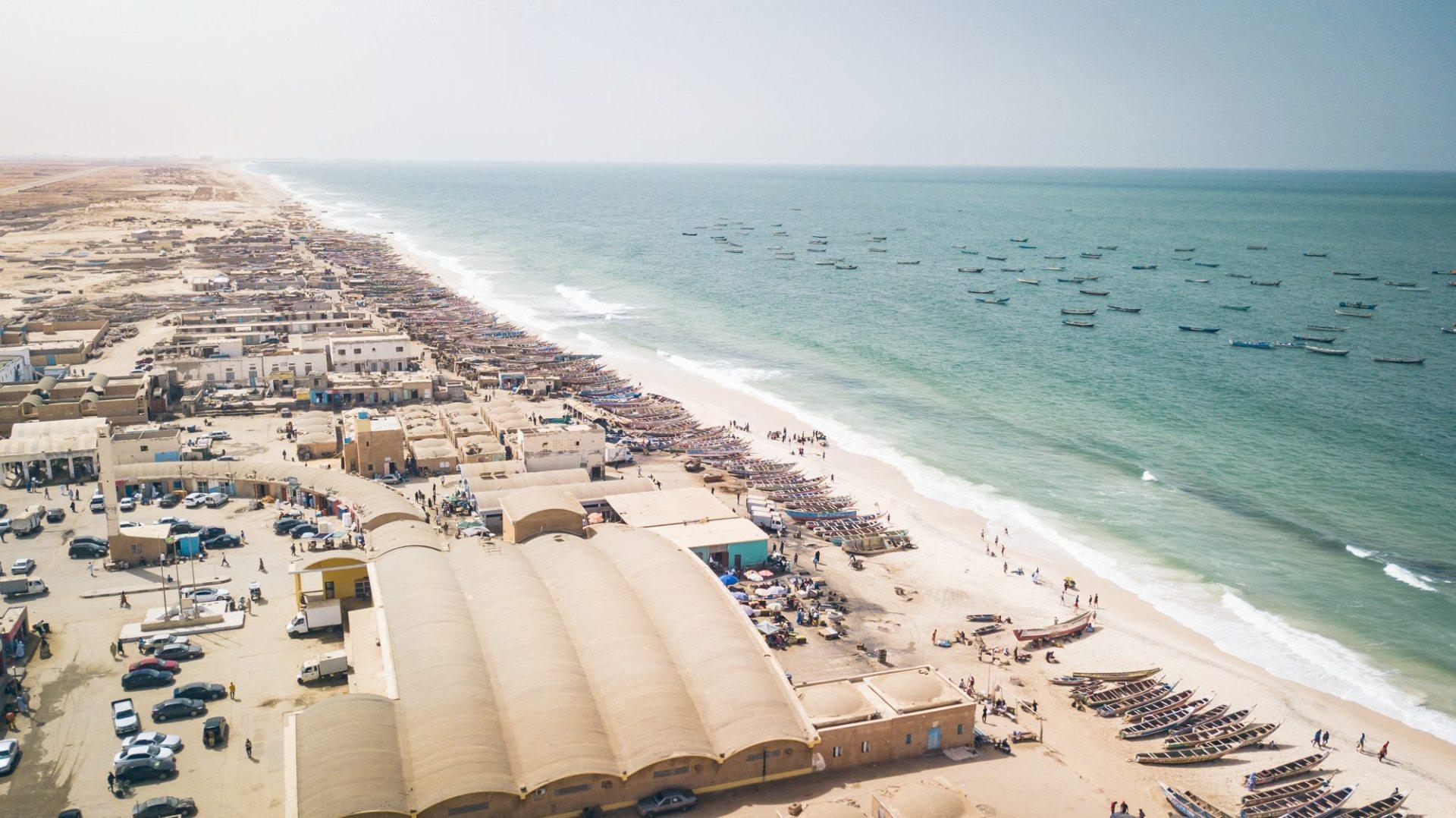 Le grand port de pêche à Nouakchott