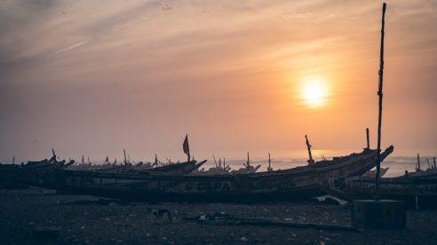 Port de pêche à Lompoule sur Mer