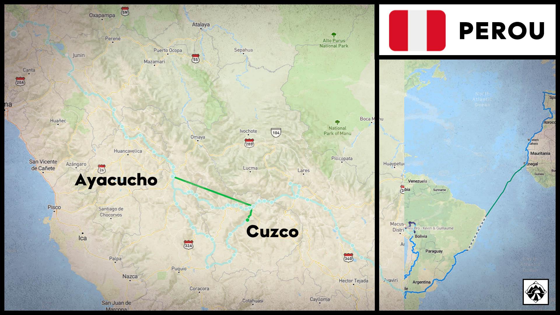 A&G - Travel Map mars 2020 Pérou