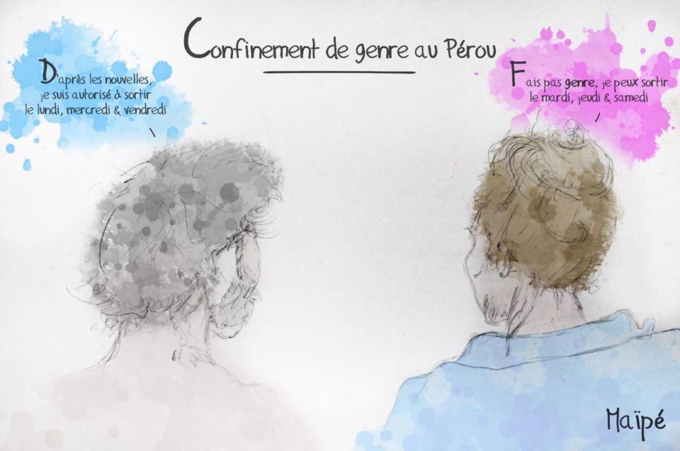 Confinement de genre au Pérou