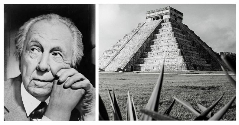 FRANK LLOYD WRIGHT: Su influencia maya y el cine