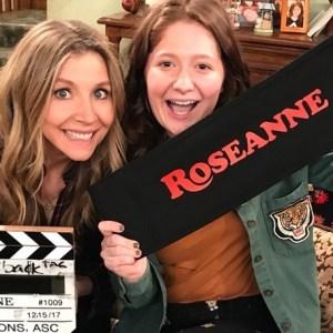 Sarah Chalke Emma Kenney Roseanne ABC
