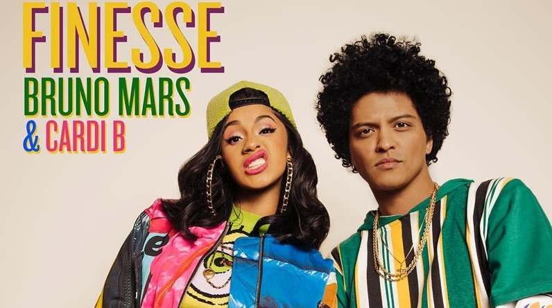 Cardi B Bruno Mars 'Finesse' Video