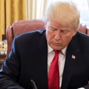 Donald Trump Haiti African Nations Shithole