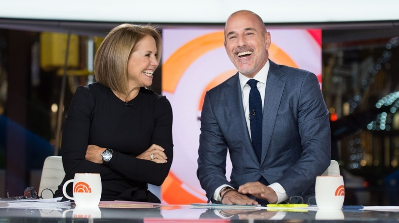 Katie Couric Matt Lauer TODAY Show