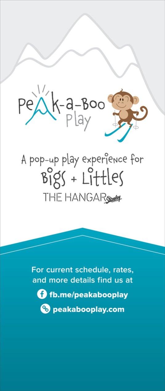Peak-a-Boo Play Signage